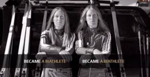 Viral for 1 day only: Watch this this inspirational Guinness ad featuring 2 Olympian sisters