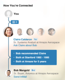 "LinkedIn adds ""How You're Connected"" feature for easier introductions"
