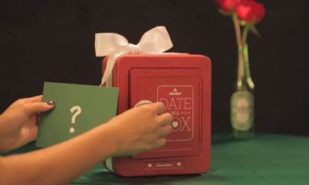 Heineken asks men to get sentimental on social media for a #DateInABox on Valentine's Day