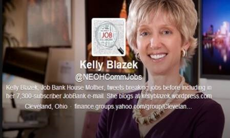 Kelly Blazek's Twitter account