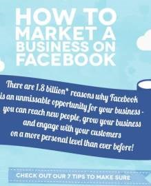 Infographic: How to market a business on Facebook