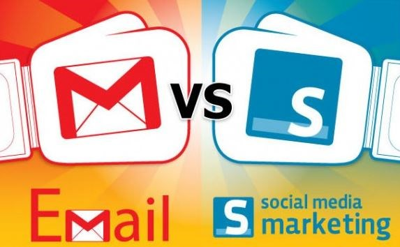 Infographic: Email marketing vs. social marketing, which one's better?