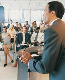 How to generate buzz and briefings at conferences and trade shows