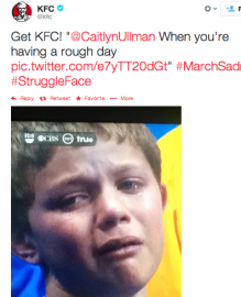 Real-time marketing fail: KFC makes fun of crying child