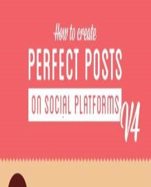 Infographic: How to create perfect posts for your blog, and every social media network