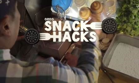 "Oreo partners with celebrity chefs to create ""Snack Hacks"" videos series"