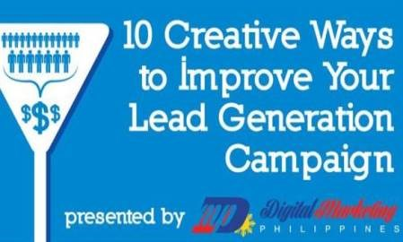 Infographic: 10 ways to improve your lead generation campaign