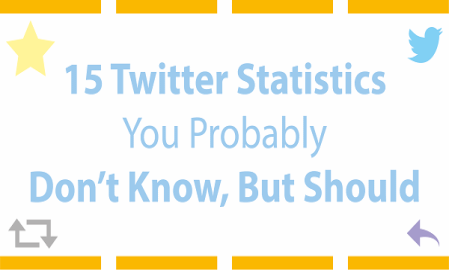 Infographic: 15 Twitter statistics you probably don't know, but should