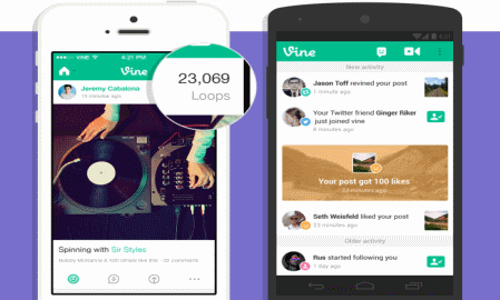 "Vine introduces ""loop counts"" to show how many times your video has been viewed"
