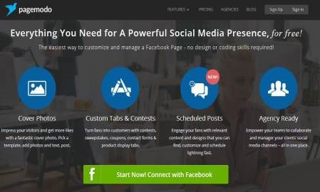 For small businesses, Pagemodo is an alternative social marketing suite to Hootsuite and Buffer