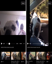 "Facebook tests ""more videos"" carousel feature to increase video engagement"