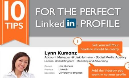 10 tips for making your LinkedIn profile stand out