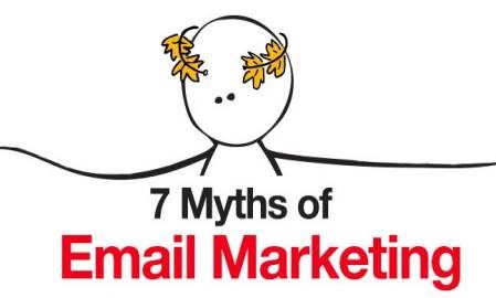 Infographic: 7 email marketing myths debunked