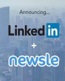 LinkedIn acquires media tracking service Newsle