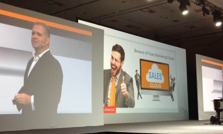 Oracle comes out guns blazing against Adobe and Salesforce at Interact Conference