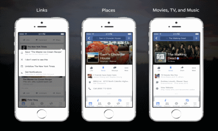 A new Facebook feature lets you save posts from your news feed for later reading