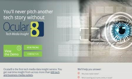 """PR pros can use Ocular8 to monitor media activity and their clients' """"share of voice"""""""