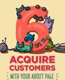 "Infographic: 5 ways to capture customers using your ""About"" page"