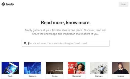 Feedly Pro helps PR pros aggregate, share and monitor published content