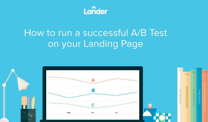Infographic: How to run a successful A/B test on your landing page