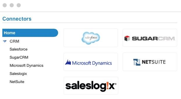Act-On software now offers native integrations with all major CRM systems
