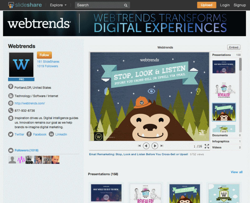 Content marketers rejoice! SlideShare's making its premium features free for all