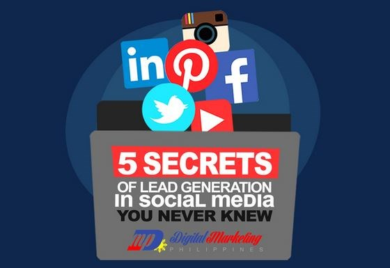 Infographic: 5 secrets of generating leads through social media