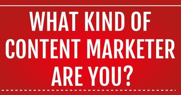 Infographic: What kind of content marketer are you?