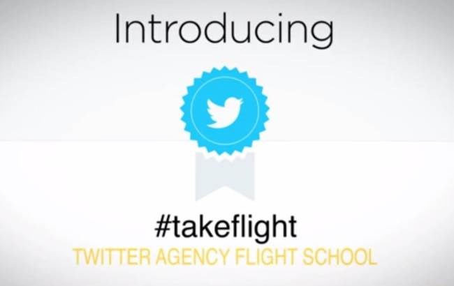 "Agencies can now go to ""Twitter Flight School"" to learn how to market on its platform"