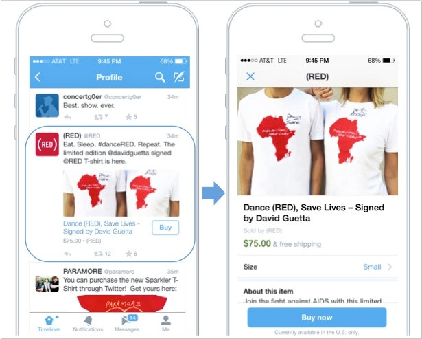 """With new """"buy button,"""" Twitter positions itself for the all-important holiday season"""