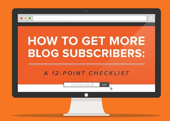 Infographic:12 ways to get more people subscribing to your blog