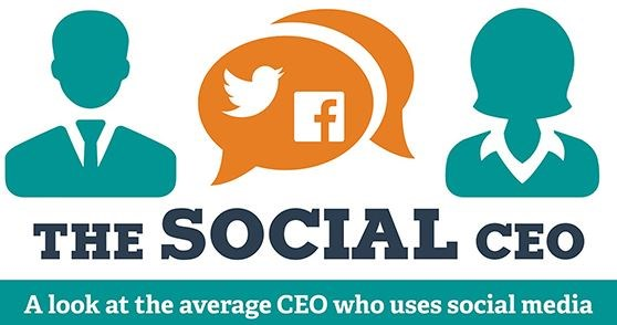 Infographic: Here's what a social CEO looks like