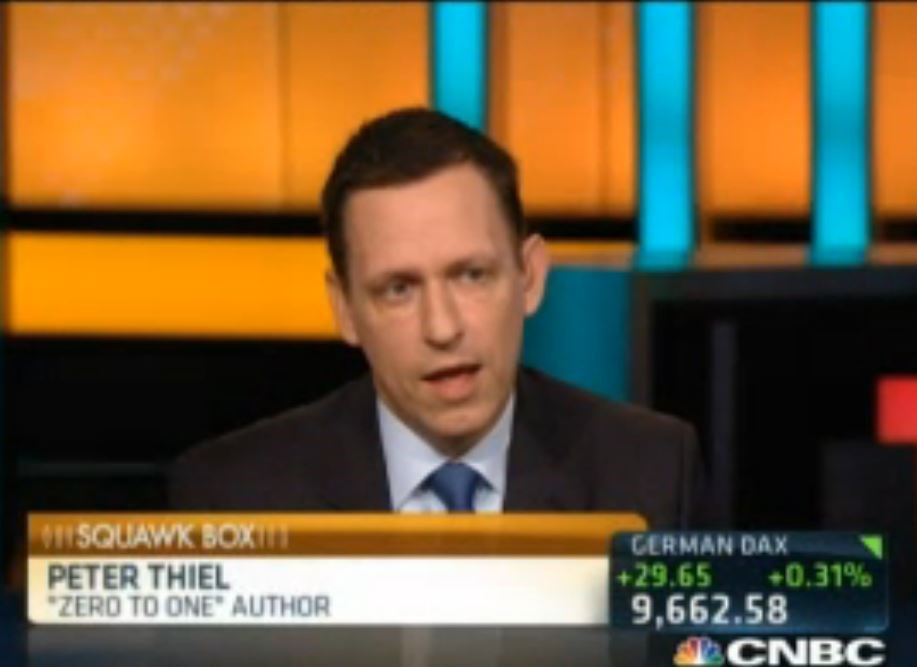 "Twitter is a ""horribly mismanaged company"" says famed investor Peter Thiel"