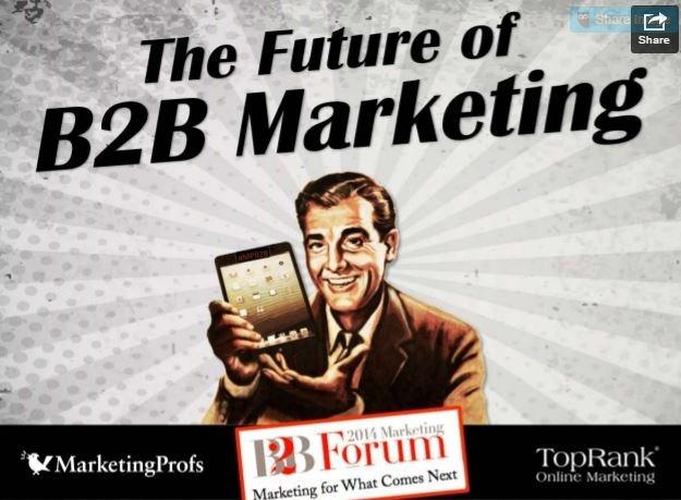 31 predictions on the future of B2B marketing
