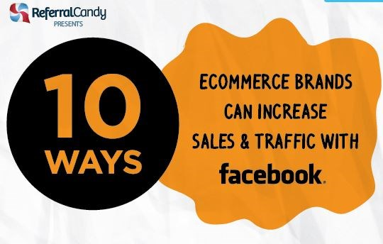 Infographic: 10 ways ecommerce brands can increase traffic using Facebook