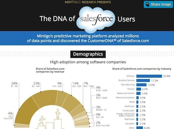 Infographic: Here's what a typical Salesforce.com user looks like.