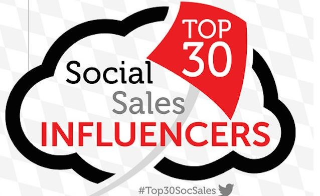 Infographic: The top 30 social selling experts