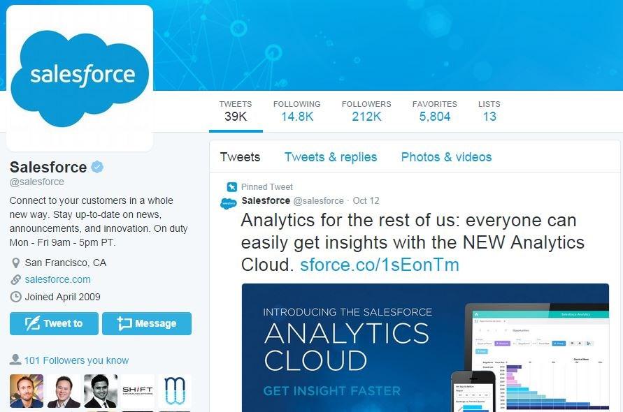 An inside look at Salesforce's social media team