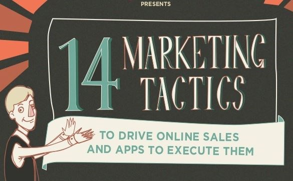 Here are 14 tactics and 9 apps that will help you boost online sales