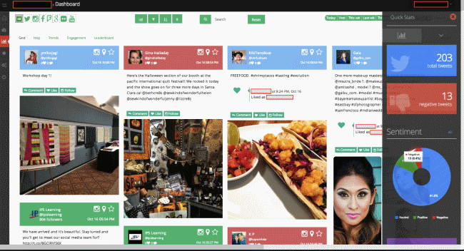 Review: WeLink is a social media listening platform that can target hyper local conversations