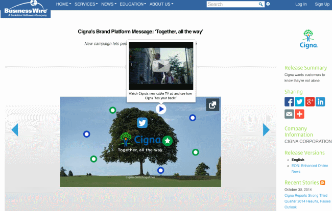 Review: Business Wire's Picture Capsule turns press releases into interactive multimedia