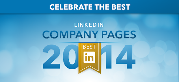 The best LinkedIn Company Pages of 2014