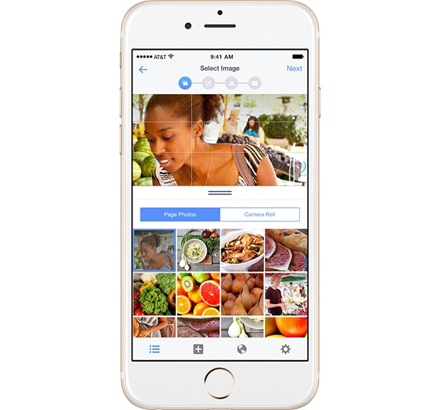 Facebook launches ad manager app