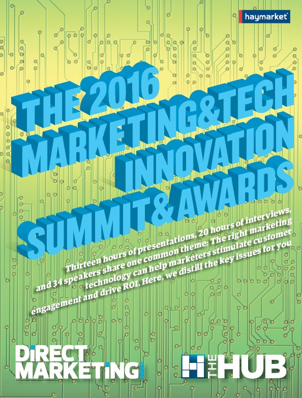The 2016 Marketing&Tech Innovation Summit & Awards